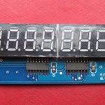 8 segment display module