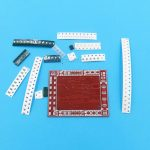 SMD SMT Soldering Skills Training Exercise Board R2 02