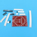 SMD SMT Soldering Skills Training Exercise Board R2 03