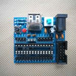 ATMEGA8 Minimum System Development Kit Self-Soldering 1