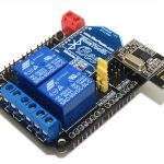 Arduino 2 Channels Relay Extension Shield Wireless Supported (BTBee Xbee, Nrf24l01)2