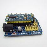 Arduino Nano Adapter board Shield to UNO 2