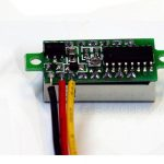 "0.28"" Voltmeter Header Voltage Meter R2 0-100V 03"