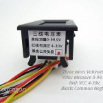 Three-wires DC Voltmeter 0-99.9V -2