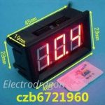 Three-wires DC Voltmeter 0-99.9V -4