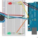 simple arduino and SR04 example 02