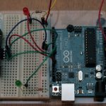 simple arduino and SR04 example 03