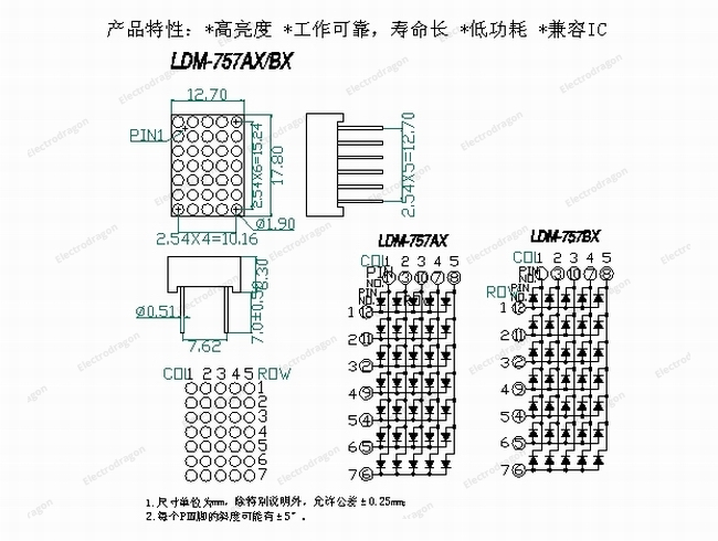 LDM-757AXBX