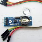 DS1302 RTC module wCR1220 Holder and Battery
