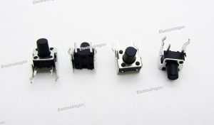 20PCs Stand (90 Degree, Side-Pin) TACT Push Button 6 6 8