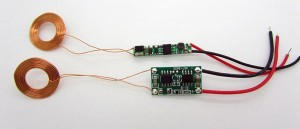 Wireless Power Supply Modules Pair w 19mm Dia. Coil