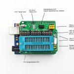 AVR ISP ICSP Programmer Arduino Shield R2 04