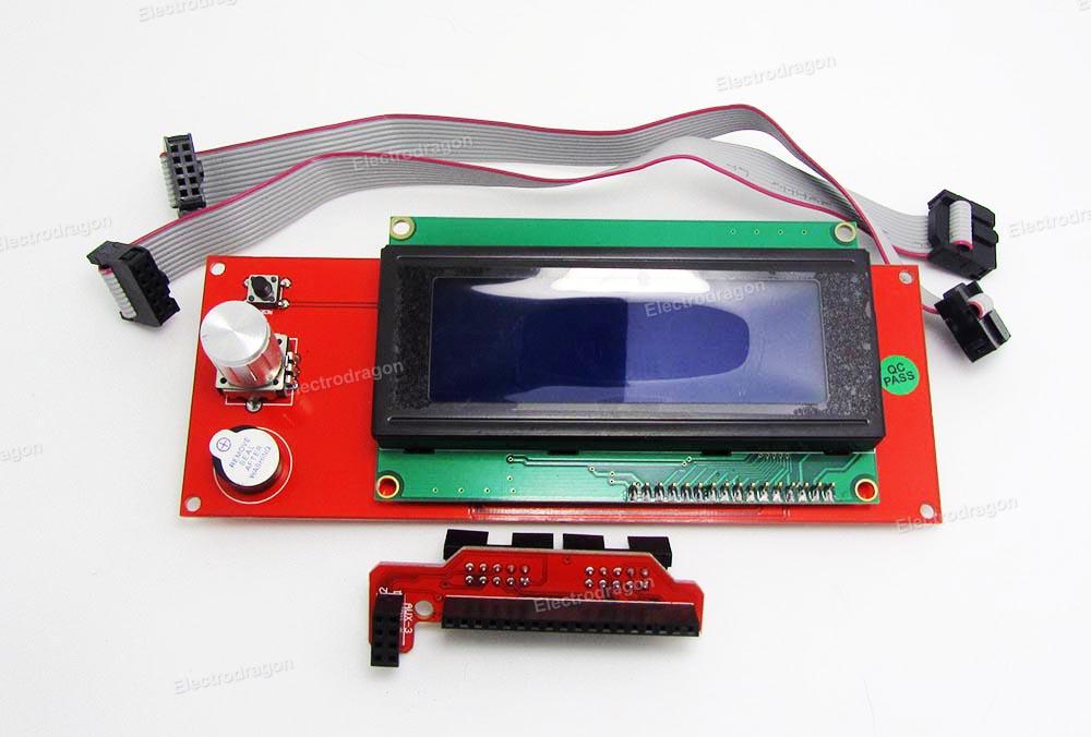 1602 LCD Display 3D Printer Reprap Smart Controller Ramps 1.4 2004 LCD Module