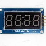 4-Digi 7-Segment Display IIC Interface (Arduino Supported)