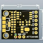 Attiny85 mini board 02