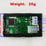 Digital Ammeter Voltmeter DC0-100V10A 02