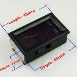 Digital Ammeter Voltmeter DC0-100V10A 03