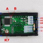 Digital Ammeter Voltmeter DC0-100V10A 08