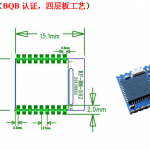 CC40 BLE  Serial Data Breakout Board (Slave, CC2540 CC2541)
