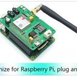 Raspberry PI SIM800 GSM GPRS Add-On V2.0 Module Shield For RPI 04