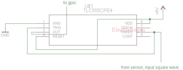 flow sensor wiring with esp8266