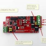 led strip relay board esp8266 wiring ws2812