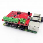 Raspberry Pi Stepper Servo Motor Drive Shield HAT R2 03