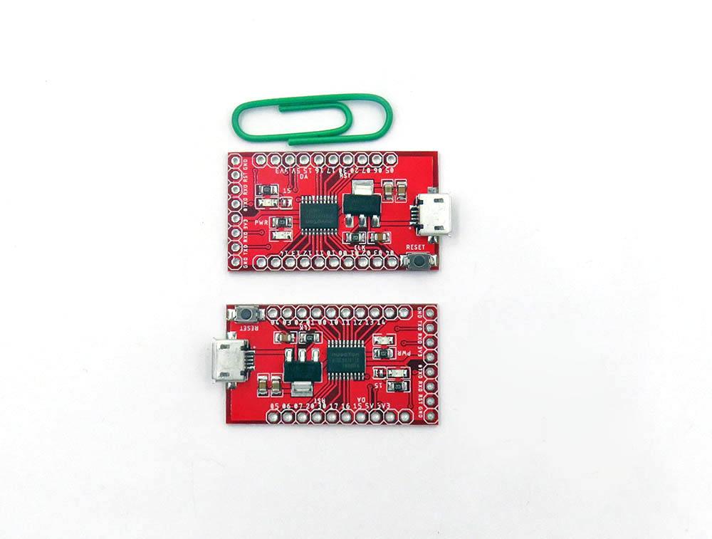 ILS N76E003AT20 51 Development Board Nu-Link N76E003 Development Board