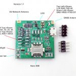 SIM5360E Mini Dev Board R1.1 03