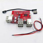 USB Battery Power Bank, USB Hub Shield for Raspberry Pi 04