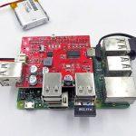USB Battery Power Bank, USB Hub Shield for Raspberry Pi 07