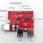 USB Battery Power Bank, USB Hub Shield for Raspberry Pi 09