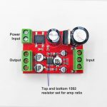 Audio Preamplifier Board NE5532 01