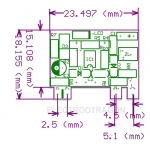 Mini AC-DC Isolated Power Module, 5Vout 700mA 3.5W 04