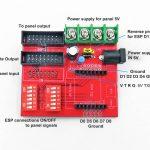 RGB Dot Matrix Display Drive WIFI Board, ESP8266 01