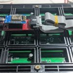 RGB LED Matrix Panel Driver Board, ESP8266 WIFI R2 07