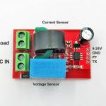 VAC Power Energy Sensor Board Isolated Version, HLW8032 01