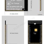ESP-12K WIFI Module ESP32-S2 04